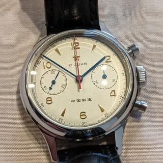 インターナショナルウォッチカンパニー(IWC)のシーガル1963 ゼニス IWC パイロットウォッチseagull st1901(腕時計(アナログ))