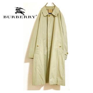 バーバリー(BURBERRY)の英国製 バーバリー ビックシルエット  ステンカラーコート(ステンカラーコート)
