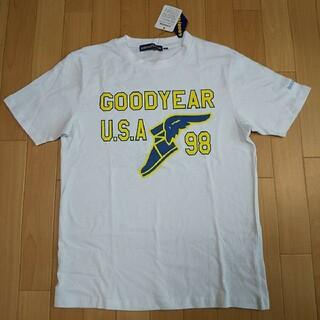 グッドイヤー(Goodyear)のMサイズ  新品  グッドイヤー 半袖Tシャツ 白(Tシャツ/カットソー(半袖/袖なし))