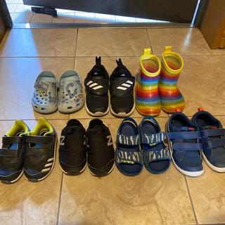 アディダス(adidas)の男の子 まとめ売り シューズ 13cm・14cm・15cm(その他)