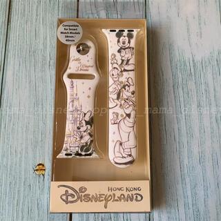 ディズニー(Disney)の香港ディズニー🌟キャッスル オブ マジカル ドリームズ アップルウォッチバンド(ラバーベルト)