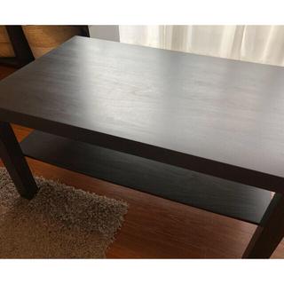 イケア(IKEA)の再出品!IKEA家具セット ローテーブル&ラグカーペット(ローテーブル)