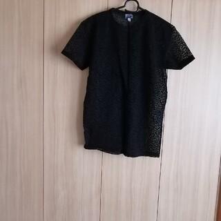 ジャンニヴェルサーチ(Gianni Versace)のレディーストップス(シャツ/ブラウス(半袖/袖なし))