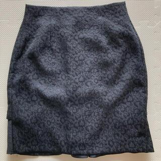 ナノユニバース(nano・universe)のナノユニバース ブラック ミニスカート(ミニスカート)
