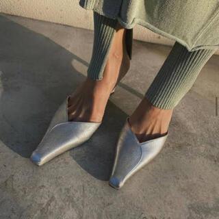 アメリヴィンテージ(Ameri VINTAGE)の【Ameri VINTAGE】little square toe mule(ミュール)