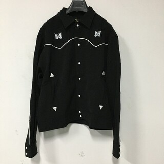 ニードルス(Needles)のNEEDLES 19AW PAPILLON EMB COWBOY shirt(テーラードジャケット)