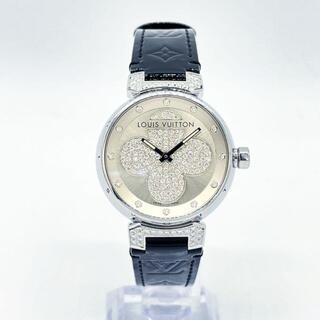 LOUIS VUITTON - 【入手困難】ルイヴィトン タンブール 腕時計 フォーエバー 純正ダイヤ Q4