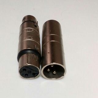 XLR キャノンケーブル コネクタ XLR 3 Pin  セット(ケーブル)