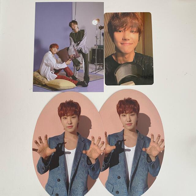 SEVENTEEN(セブンティーン)のSEVENTEEN ホシ ミンハオ トレカ セット エンタメ/ホビーのCD(K-POP/アジア)の商品写真
