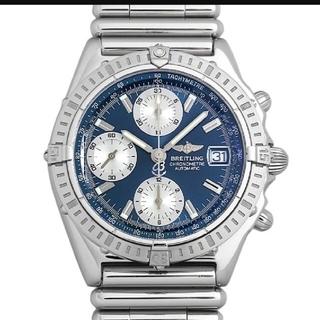 ブライトリング(BREITLING)のブライトリング クロノマット A13352 B0142 ルーローブレス 青文字盤(腕時計(アナログ))