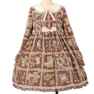 アンジェリックプリティー(Angelic Pretty)のアンプリ Cream Cookie Collection ワンピース(ひざ丈ワンピース)