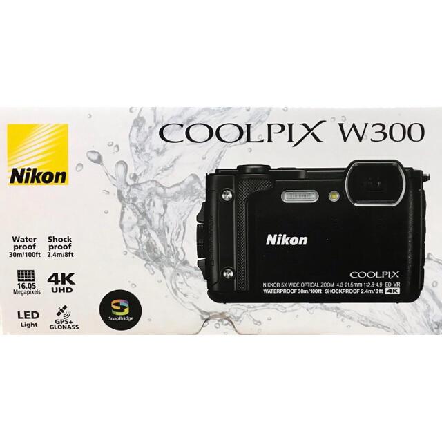 Nikon(ニコン)のNikon COOLPIX W300 スマホ/家電/カメラのカメラ(コンパクトデジタルカメラ)の商品写真
