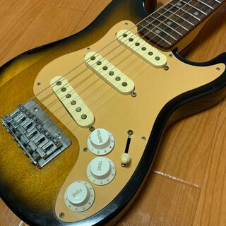ミニストラトキャスター 未使用ストラップ付き ちゃんとストラトの音(エレキギター)