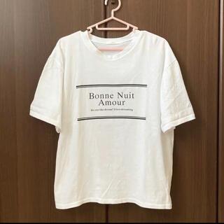 デュラス(DURAS)のGW限定‼️DURAS ロゴ入りTシャツ ホワイト(Tシャツ(半袖/袖なし))