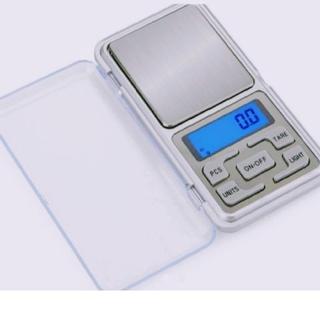 新品❥便利❥デジタルスケール 電子はかり ポータブル❥0.1g単位で500gまで(収納/キッチン雑貨)