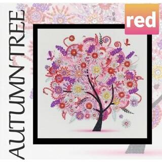 【ダイヤモンドアート作成キット】RED(アート/写真)