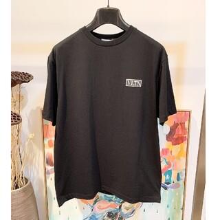 ヴァレンティノ(VALENTINO)のヴァレンティノValentino Tシャツ ブラック メンズ(Tシャツ/カットソー(半袖/袖なし))