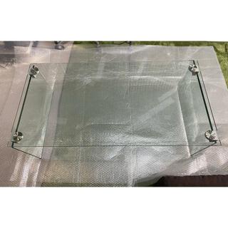 フランフラン(Francfranc)のフランフラン ガラステーブル(コーヒーテーブル/サイドテーブル)