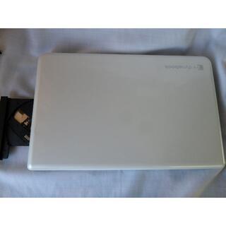 トウシバ(東芝)の美品!白いDYNABOOK 15.6inc HDD500GB WIN10(ノートPC)