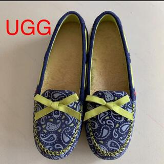 UGG - UGG アグ ファーインソール フラットシューズ  USA 7