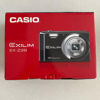 カシオ(CASIO)のCASIO EXILIM EX-Z28 デジカメ(コンパクトデジタルカメラ)