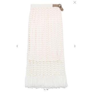 リリーブラウン(Lily Brown)のLily Brown フィッシュネットタイトスカート(ロングスカート)