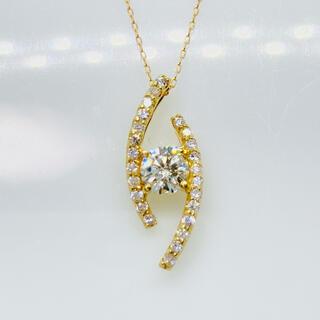 K18 ダイヤモンド ペンダントトップ D:0.50ct(ネックレス)