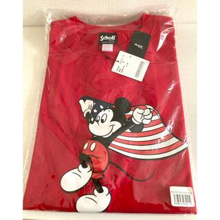 ショット(schott)の新品 ショット ミッキー ディズニーコラボ Tシャツ 未開封(Tシャツ/カットソー(半袖/袖なし))