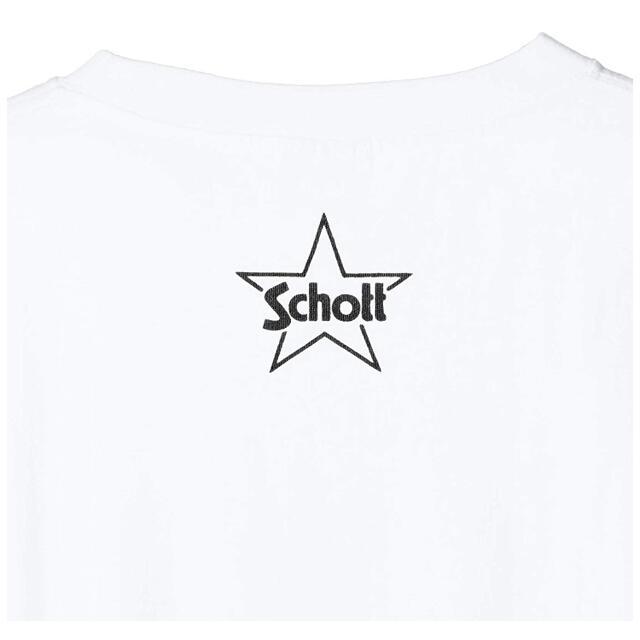 schott(ショット)の新品 ショット ミッキー ディズニーコラボ Tシャツ メンズのトップス(Tシャツ/カットソー(半袖/袖なし))の商品写真
