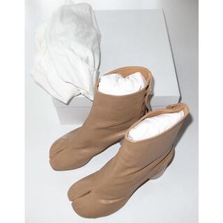 Maison Martin Margiela - マルジェラ beige 足袋ブーツ tabi size37 20AW