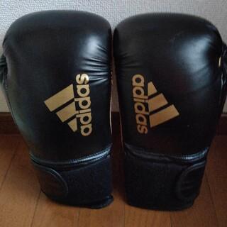アディダス(adidas)のほぼ新品ボクシンググローブ14オンス(adidas)(ボクシング)