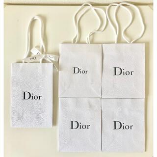 ディオール(Dior)のDior ディオール 紙袋 ショップ袋 ショッパー 5点セット(その他)