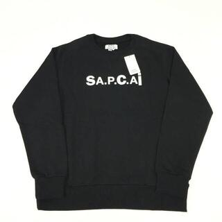 サカイ(sacai)の新品 21SS SACAI APC Tani ラグラン スウェット ブラック(スウェット)