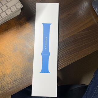 アップル(Apple)の【期間限定値引き】Apple Watch純正品 スポーツバンド サーフブルー(その他)