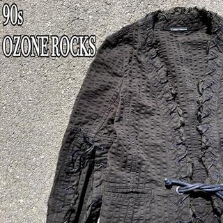 オゾンロックス(OZONE ROCKS)の90s 廃盤 オゾンロックス デザインジャケット ショート丈 レースアップ(その他)