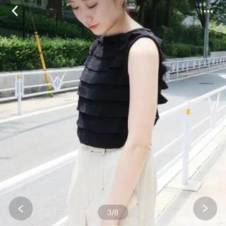 イエナ(IENA)のIENA☆ノースリーブニット(タンクトップ)