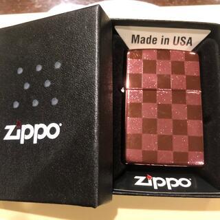 ジッポー(ZIPPO)のZippo ピンク(タバコグッズ)
