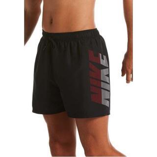 ナイキ(NIKE)のMサイズ Nike(ナイキ)ロゴ スイムショーツ 水着 ブラック(水着)