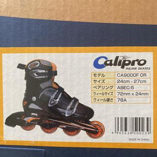 calipro インラインスケート(ローラーシューズ)