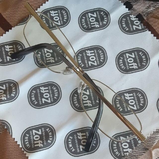 Zoff(ゾフ)のZoff メガネ メンズのファッション小物(サングラス/メガネ)の商品写真