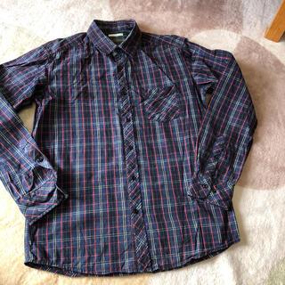 ジーユー(GU)のチェックシャツ☆美品(シャツ)