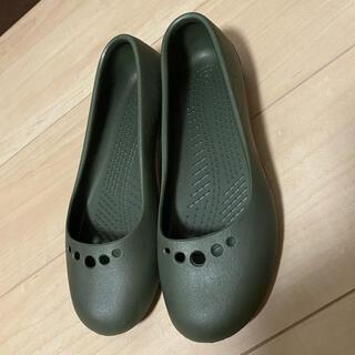 crocs - 美品! crocs クロックス パンプス