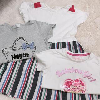 ウィルメリー(WILL MERY)の女の子120センチ3点セット(Tシャツ/カットソー)