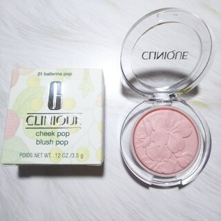 CLINIQUE - クリニーク チークポップ 21 バレリーナポップ 限定桜デザイン