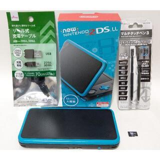 ニンテンドー2DS - 【USBケーブル/SDカード32GB付属】 Newニンテンドー2DS LL