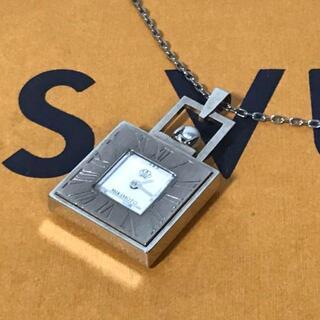 ミキモト(MIKIMOTO)のMIKIMOTO ミキモト ペンダント時計 JAL 限定 パール アクセサリー(腕時計)