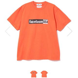 ファセッタズム(FACETASM)のFACETASM × WIND AND SEA TEE レッド(Tシャツ/カットソー(半袖/袖なし))