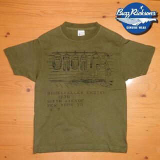 バズリクソンズ(Buzz Rickson's)のBUZZ RICKSON'S - バズリクソンズ Tシャツ XS(Tシャツ/カットソー(半袖/袖なし))