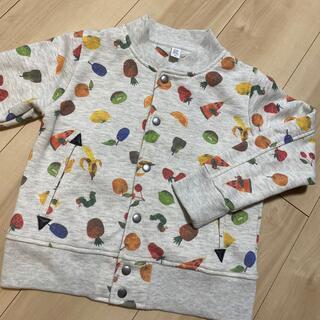 Design Tshirts Store graniph - グラニフ はらぺこあおむし 130 ジャンパー