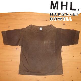 マーガレットハウエル(MARGARET HOWELL)のMHL.MARGARET HOWELL マーガレット・ハウエル プルシャツ(シャツ/ブラウス(半袖/袖なし))